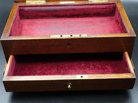 Early 20th Century Oak Jewellery Box (4 of 5)