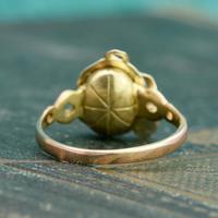 The Vintage Serpent & Garnet Ring (6 of 6)