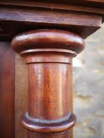 Large Antique French Walnut Armoire / Wardrobe (9 of 14)