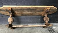 19th Century Rustic Oak Farmhouse Dining Table (23 of 23)