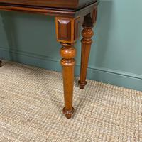 Spectacular Victorian Mahogany Antique Console Table (6 of 6)