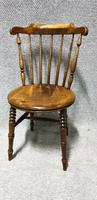 Good Set Six Kitchen Dining Chairs (Ibex) (4 of 7)