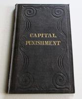 1843 A Treatise on the Necessity of Capital Punishment by Jonathan  Cogswell, 1st Edition