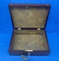 William IV Rosewood Box with Mother of Pearl Inlay (8 of 9)