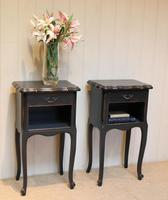 Pair of Painted Bedside Cabinets (6 of 9)