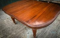 Victorian 3 Leaf Extending Dining Table Seats 10 (2 of 13)