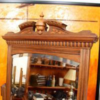 Dressing Table Burr Walnut Mirrored 19th Century (6 of 9)