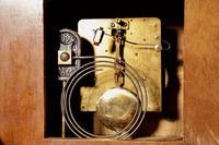 Art Deco Black Forest Very Stylish Walnut Mantel Clock c.1940 (6 of 8)