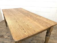 Victorian Pine Kitchen Table (5 of 9)