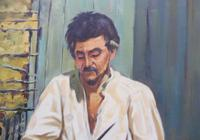 Large oil on canvas The worker Brazilian artist Chediac (Free shipping to Mainland England) (6 of 10)