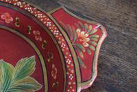 Large Scandinavian Painted Wooden Bowl (6 of 10)