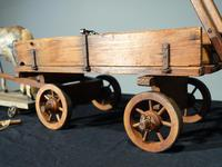 Attractive Late 19th Century German Horse & Cart (6 of 6)