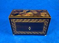 Victorian Rosewood & Tunbridge Ware Inlaid Scent Box (3 of 6)