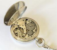 Antique Swiss silver pocket watch and chain (4 of 5)