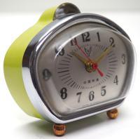 Amazing Vintage Japanese Art Deco Bedside Mantle Clock (8 of 8)
