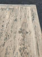 Rustic Bleached Oak French Farmhouse Dining Table (22 of 34)
