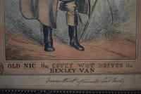 19th Century Caricatures George IV and Lord Bexley 1829 (2 of 10)