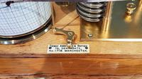 Antique Polished Oak Armstrong of Manchester Barograph (5 of 6)