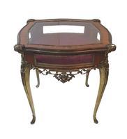 19th Century Brass & Kingwood Bijouterie Table (4 of 5)
