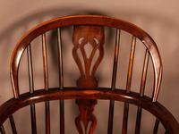 A Set of 4 Yew Tree Windsor Chairs Rockley Workshop (18 of 21)