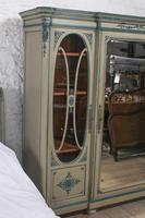 Very Pretty Original Aged Paint French Bedroom Suite (10 of 13)