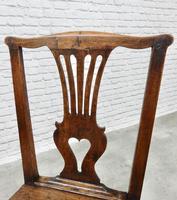 Set of 6 Georgian Welsh Oak Dining Chairs (2 of 8)