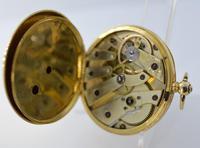 Arnold 18K Gold Pocket Watch & Box (4 of 5)