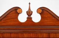 Mahogany Sheraton Revival Double Corner Cupboard (4 of 8)