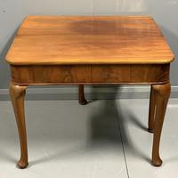 Pale Mahogany Queen Anne Style Side Table (4 of 7)
