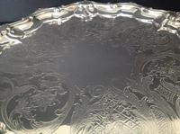 Paul Storr Antique Georgian Silver Salver - 1815 (3 of 6)