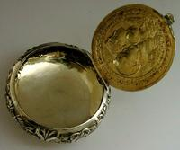 Super Rare German 800 Solid Silver Napoleon Tobacco Snuff Box c.1900 (4 of 10)