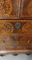 William & Mary Period Oyster Kingwood, Rosewood Marquetry Chest (5 of 8)