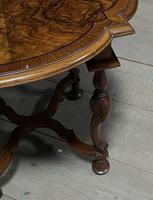 Pretty Walnut Carolean Coffee or Lamp Table (5 of 10)