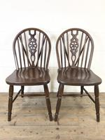 Set of Four Wheelback Dining Chairs (5 of 11)