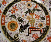 Decorative Pair of 19th Century Ironstone Plates G L Ashworth (4 of 6)