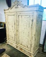 French Painted Wardrobe (6 of 7)