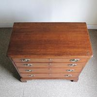 Oak Chest of Drawers c.1790 (3 of 6)