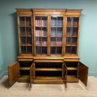 Super Quality Solid Oak Antique Library Bookcase (5 of 9)