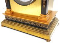Wow! Amazing French Solid Ormolu Mantel Clock 8 Day Striking Mantle Clock (5 of 12)