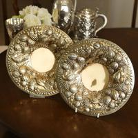Magnificent Georgian Pair of Solid Silver Gilt Charger / Platter Dishes - George Burrows 1824 (27 of 27)