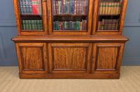 Fine Quality Figured Mahogany Library Bookcase (10 of 17)