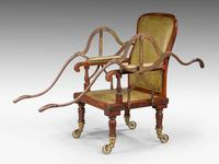 19th Century Mahogany Framed Carrying Chair (3 of 10)