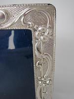 Stylish Chester Silver Art Nouveau Style Photo Frame (6 of 7)