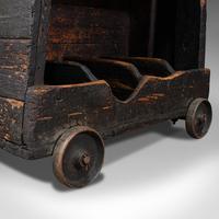 Antique Industrial Machinist's Truck, English, Trolley, Kitchen, Wine, Victorian (12 of 12)