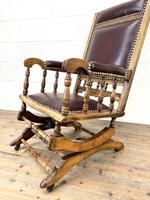 Antique Gentleman's Rocking Chair (8 of 9)