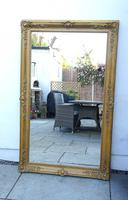 Large Victorian Giltwood & Gesso Overmantle Mirror (3 of 16)