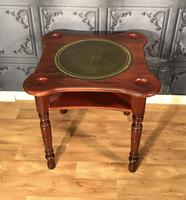 Victorian Walnut Games Card  Table (2 of 11)