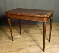 Superb French Rosewood Fold-over Top Card Table (11 of 14)