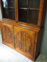 Tall George III Mahogany Cabinet Bookcase (9 of 13)