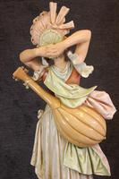 Impressive Large Antique Figure of Young Girl (25 of 28)
